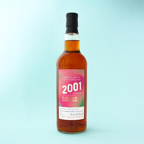 Blended Malt Scotch Whisky, 2001 Vintage, 19 Years, 70cl 45.9% vol
