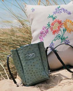 bespoke sage green bag