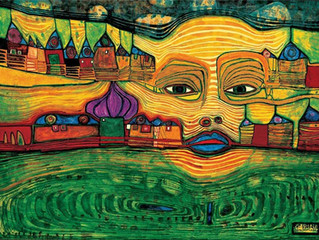 Friedensreich Hundertwasser - inspiration of the month.