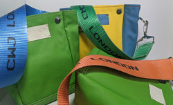 colourful vegan bags