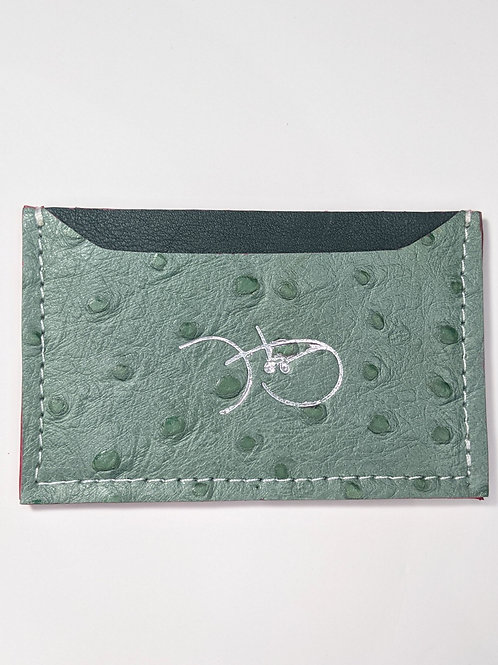 Sage Green & Forest Green Cardholder 'Type 1'