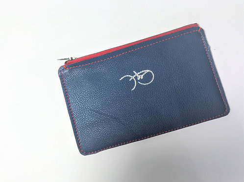 The Versatile Pocket Pouch in navy.