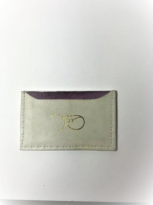 Cream &  Lavender Cardholder 'Type 1'