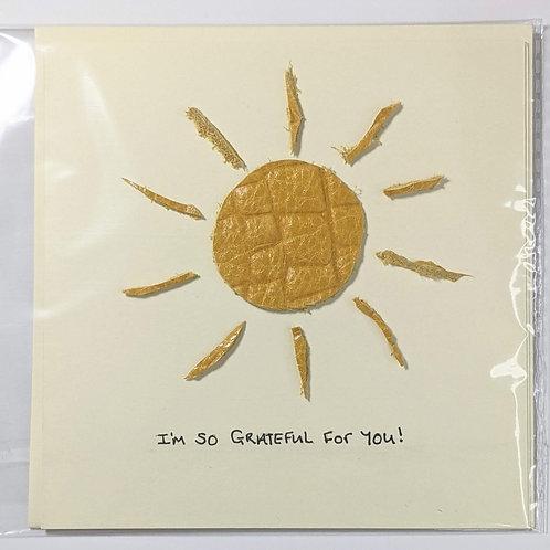 Grateful & Thank You Cards