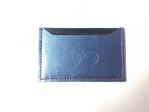 Metallic Blue & Pink Cardholder 'Type 1'