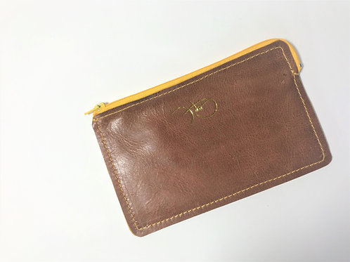 The Versatile Pocket Pouch in tan.