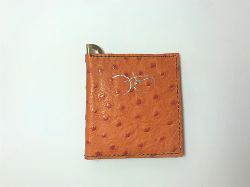 Bittersweet Orange & Forest Green Wallet.