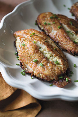 Crab Stuffed Catfish With Parmesan Crust