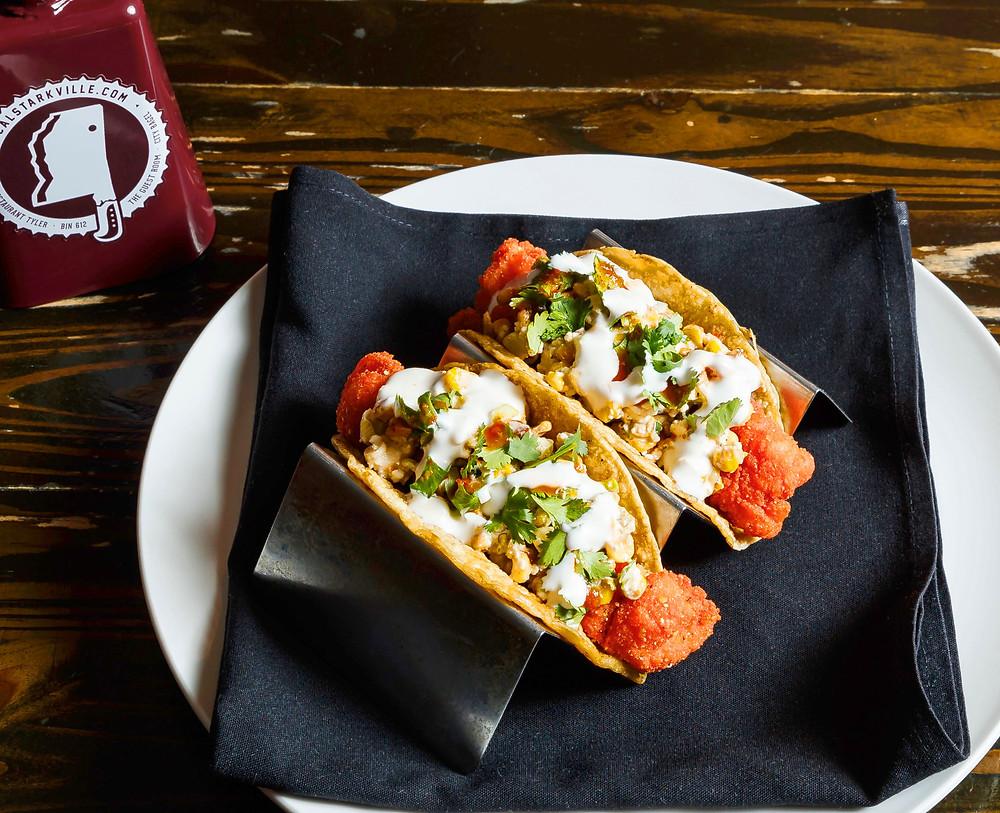 Simmons Hot Catfish Tacos