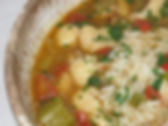 New Year's Day Catfish Gumbo