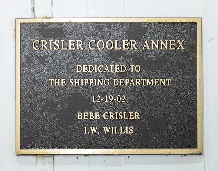 Crisler Cooler Annex