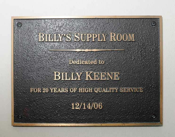 Billy's Supply Room
