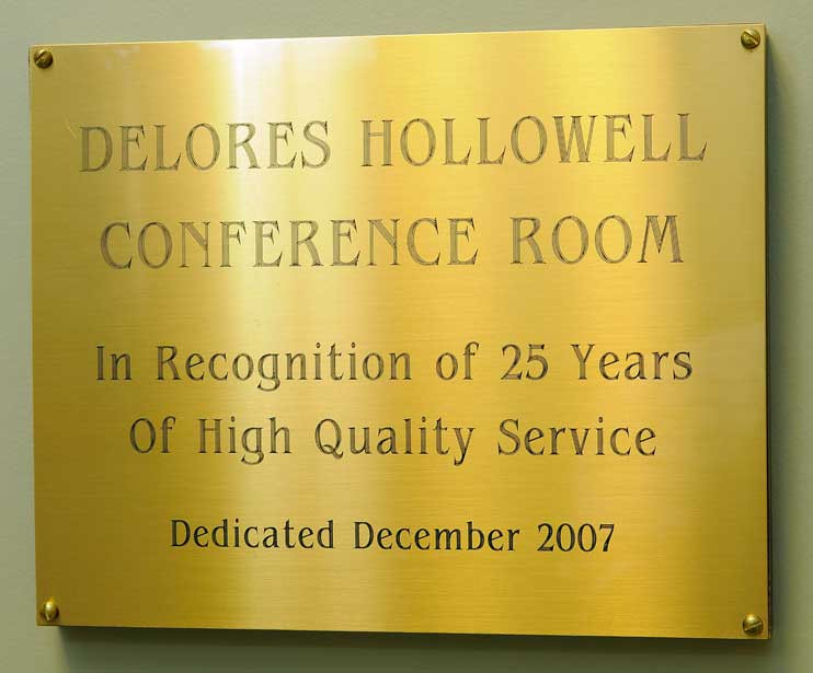 Delores Hollowell Conference Room