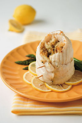 Catfish And Crab Roll-ups