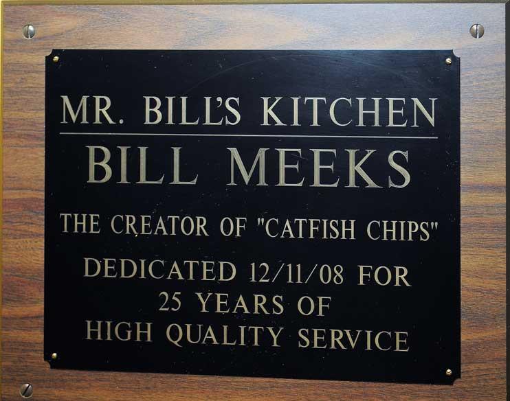 Mr. Bill's Kitchen