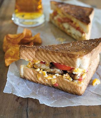 Catfish Pimiento Cheese Sandwich