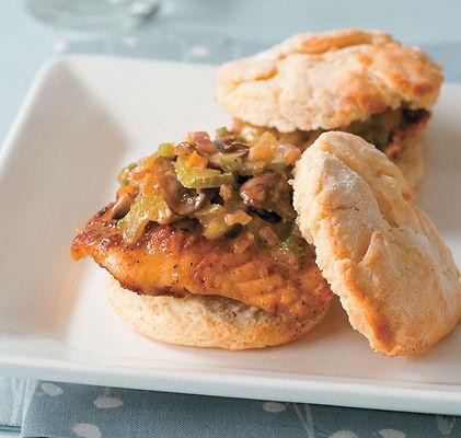 Catfish Biscuits