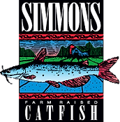 Simmons Farm Raised Catfish Logo