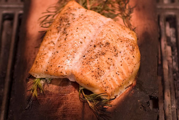 Alder-Smoked Delacata With Rosemary