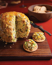 Curried Catfish Cheese Ball