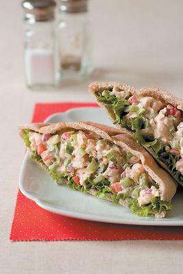 Catfish Salad In Pita