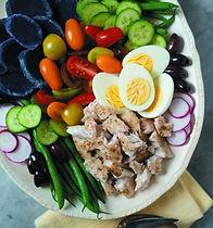 Catfish Niçoise Salad