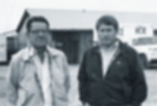 Red And Harry Simmons 1982