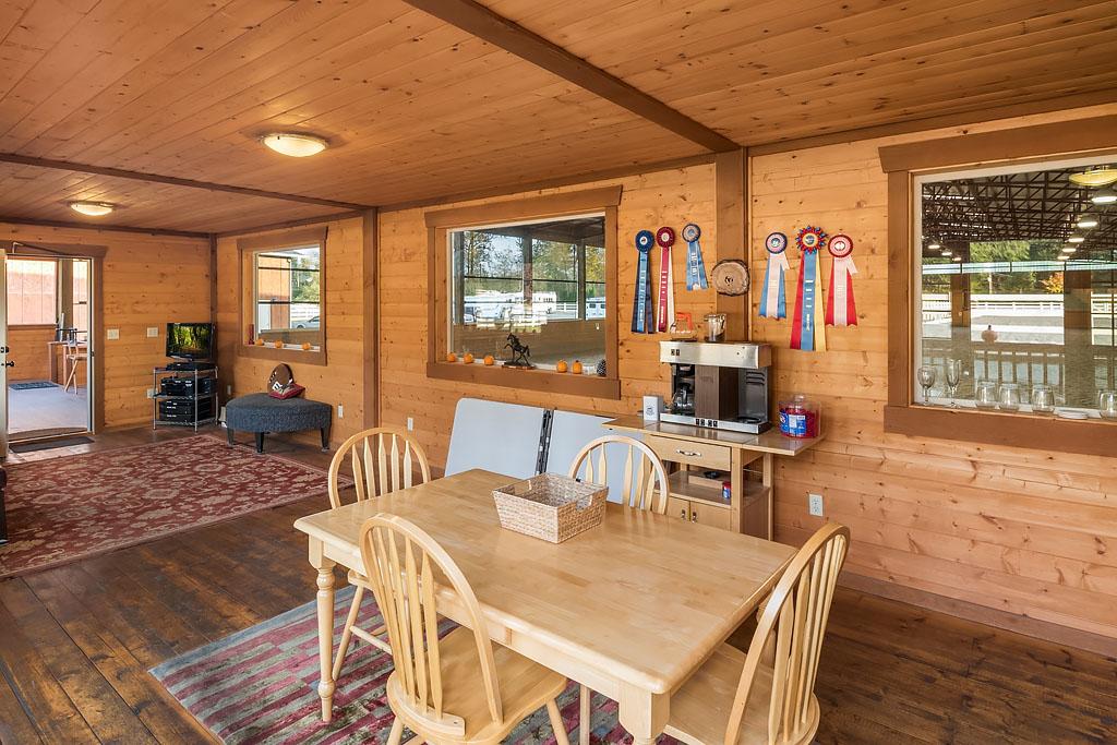 Indoor Heated Lounge