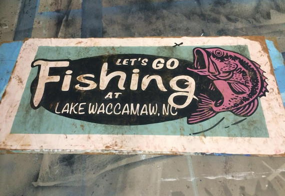 Gone Fishing Billboard