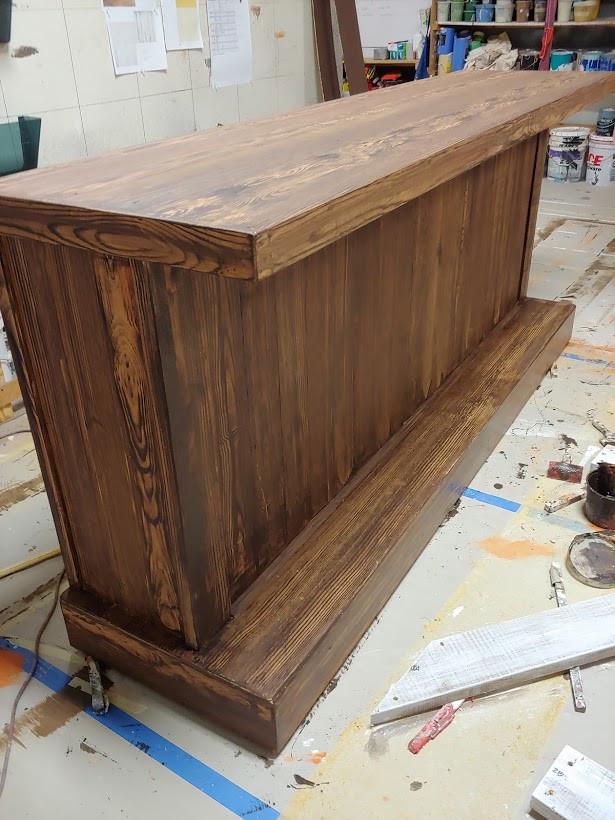 Always... Patsy Cline wood bar