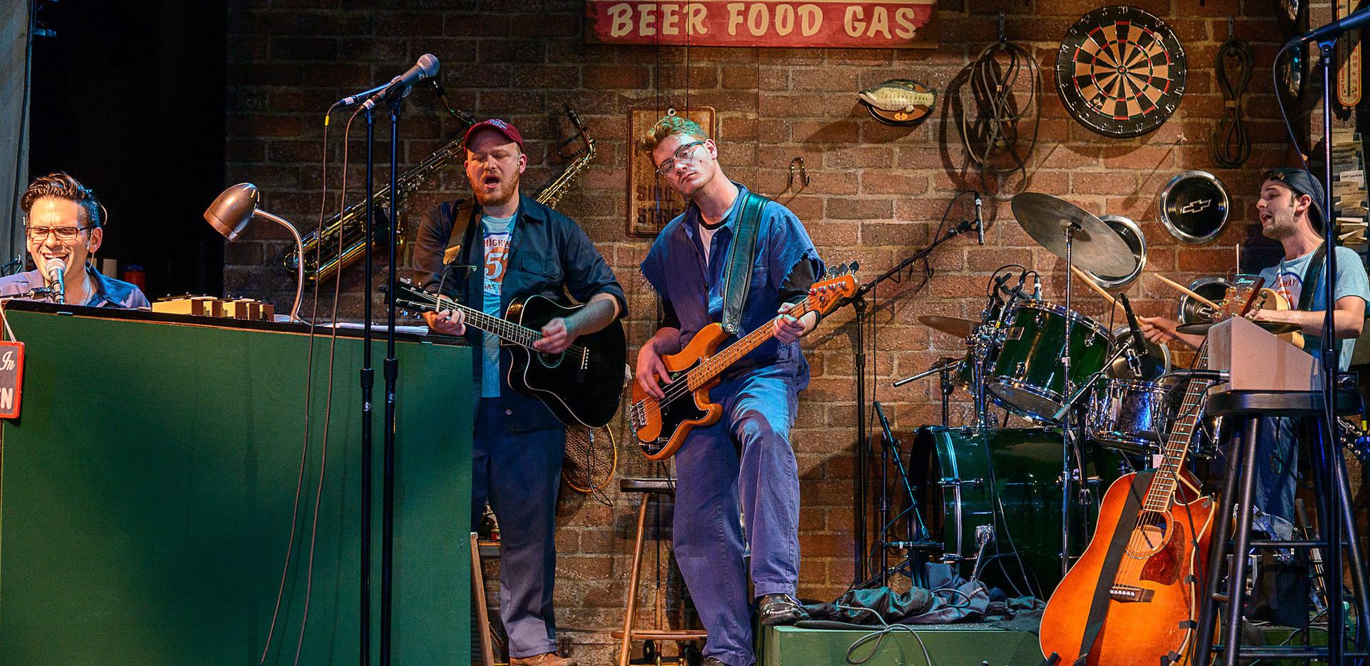 Pump Boys & Dinettes Production Photo