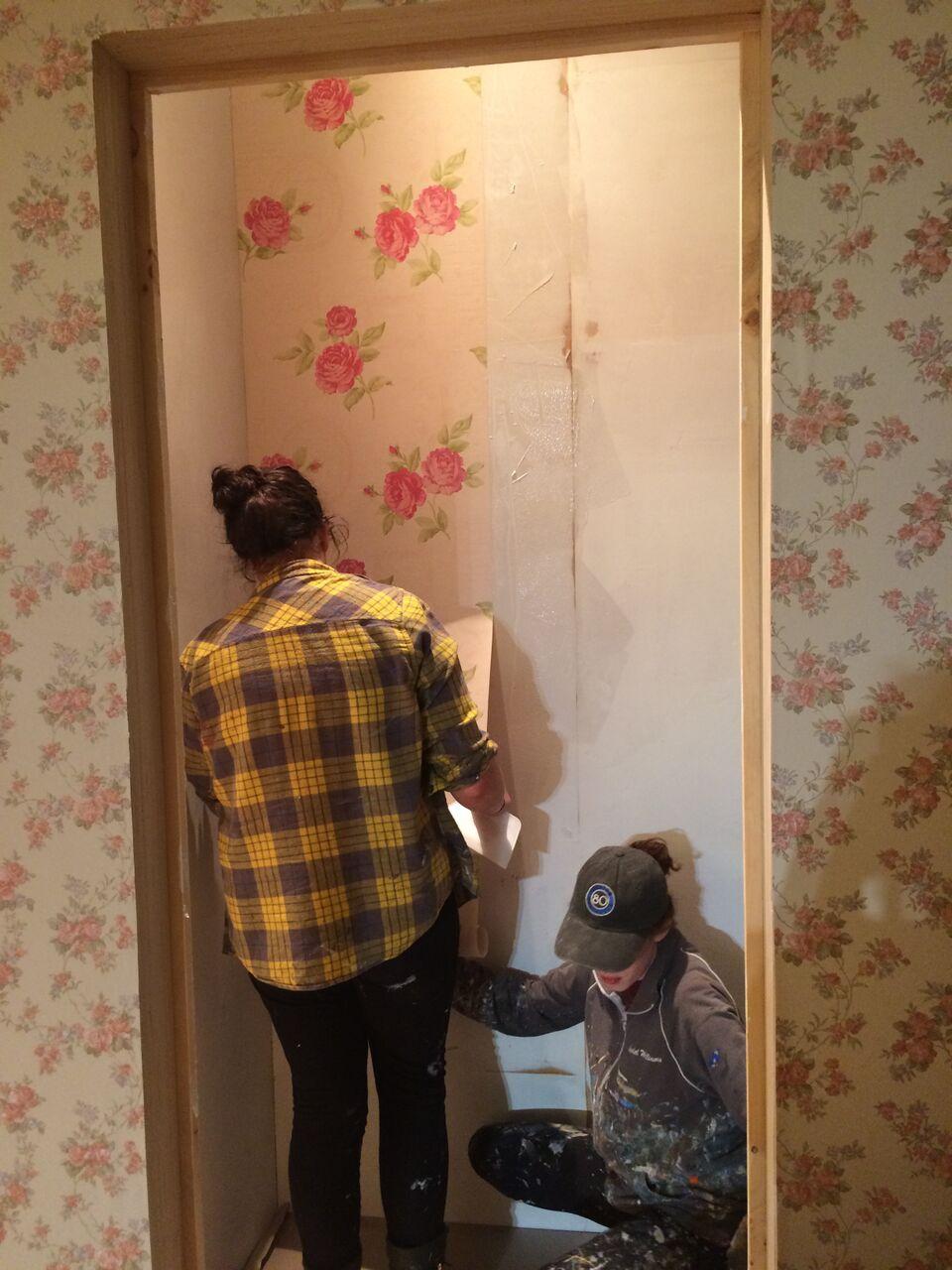 wallpaper in progress