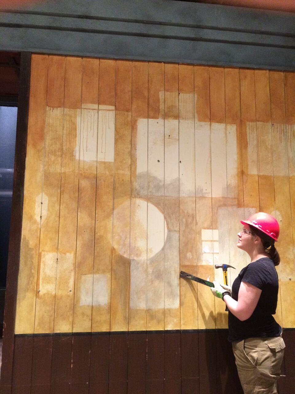 final wall detail