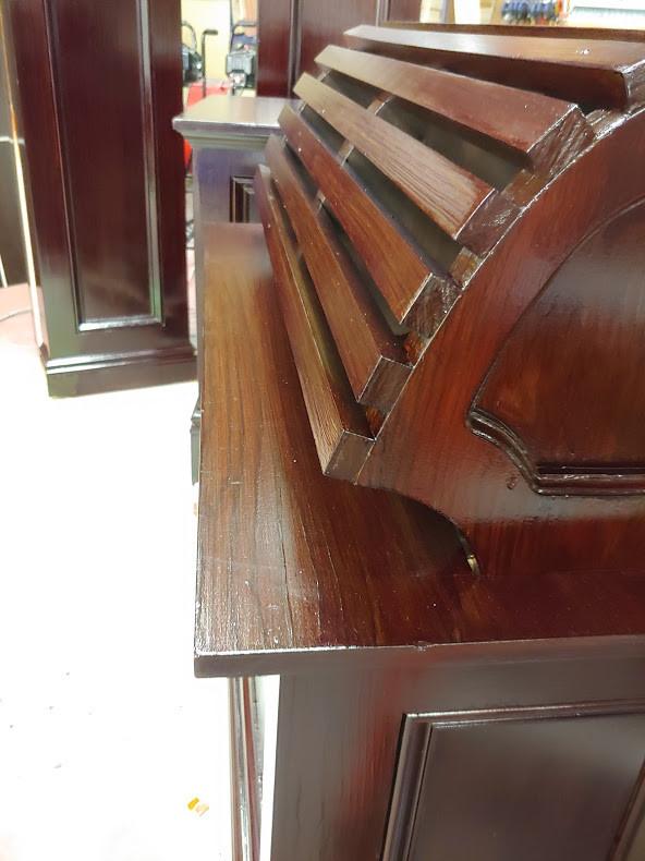 High finish wood