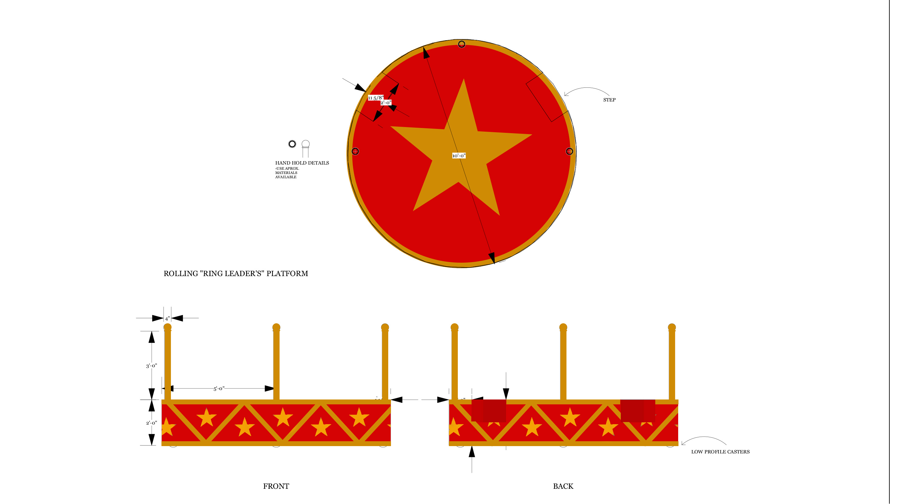 Ringleader platform paint elevation
