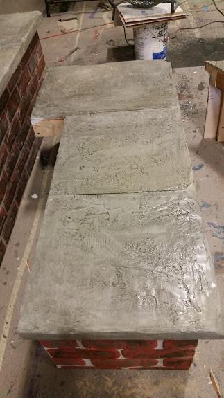 rock bench slab
