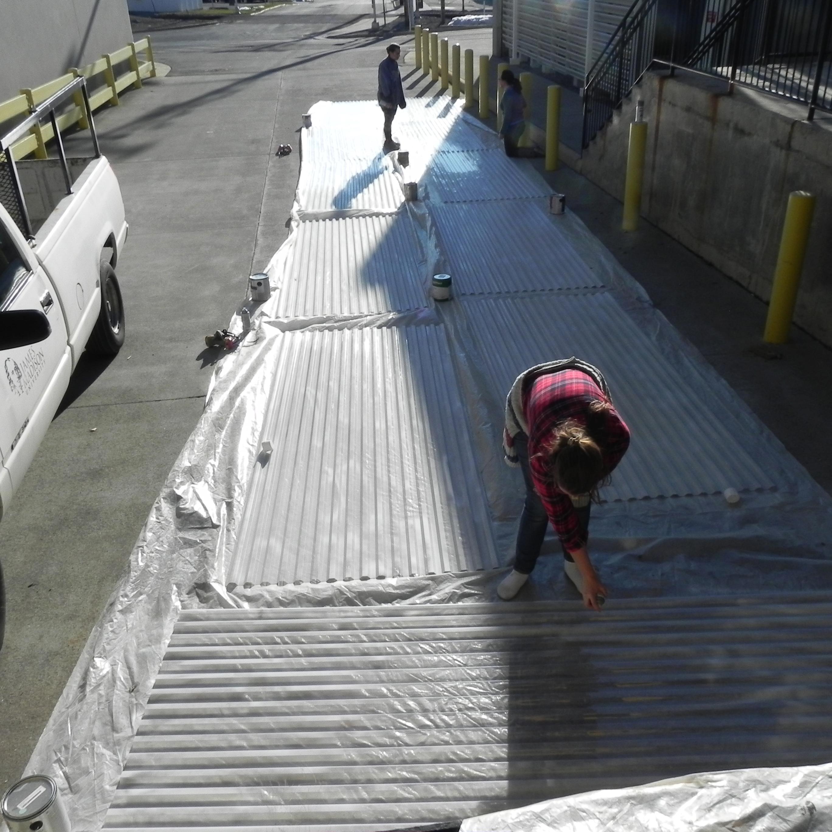 corrugated plastic treatment