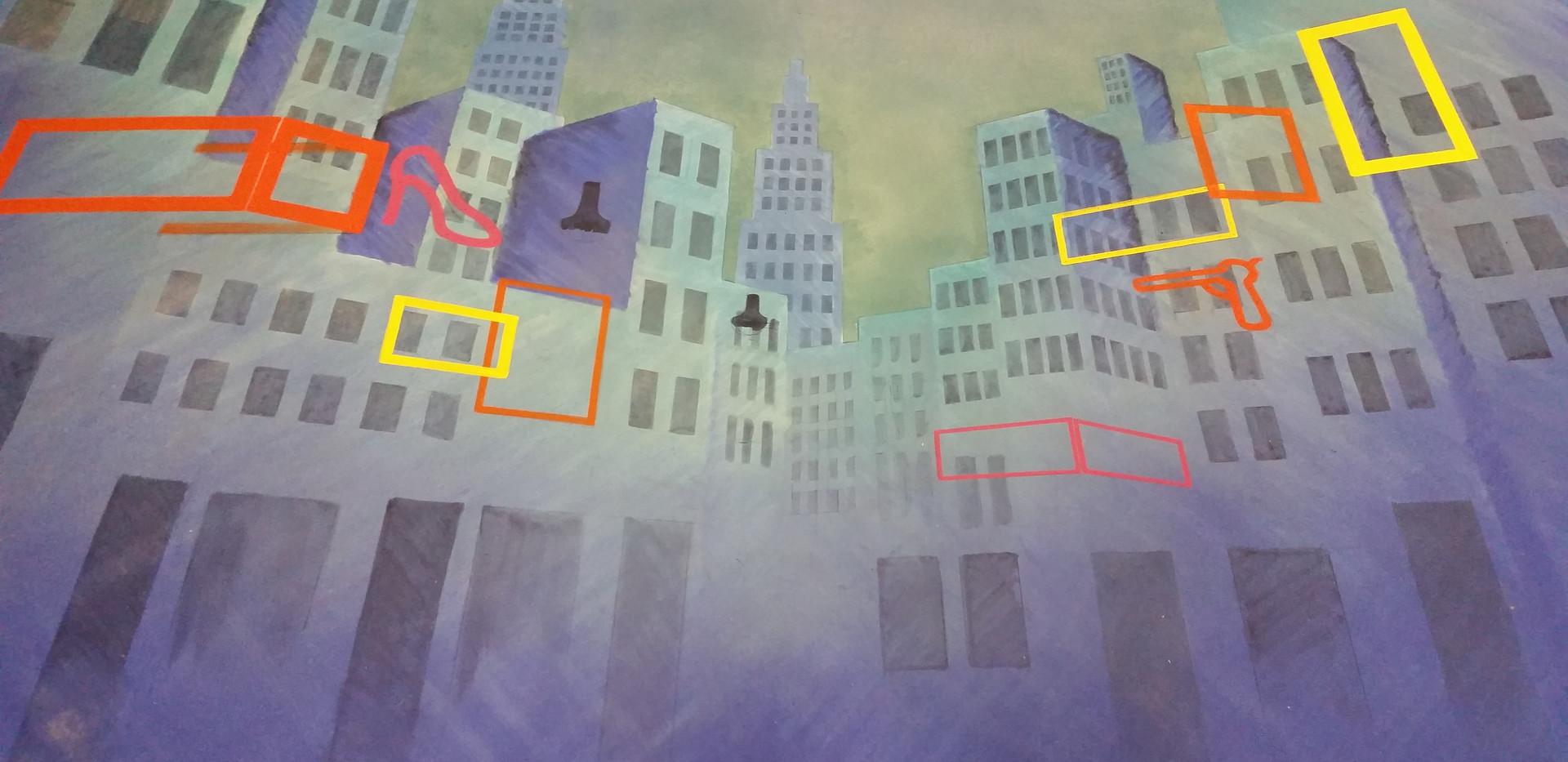 City scape drop complete