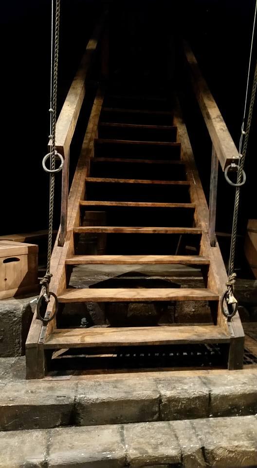 Staircase/Drawbridge detail