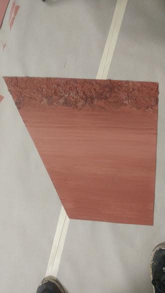 Red dirt road sample