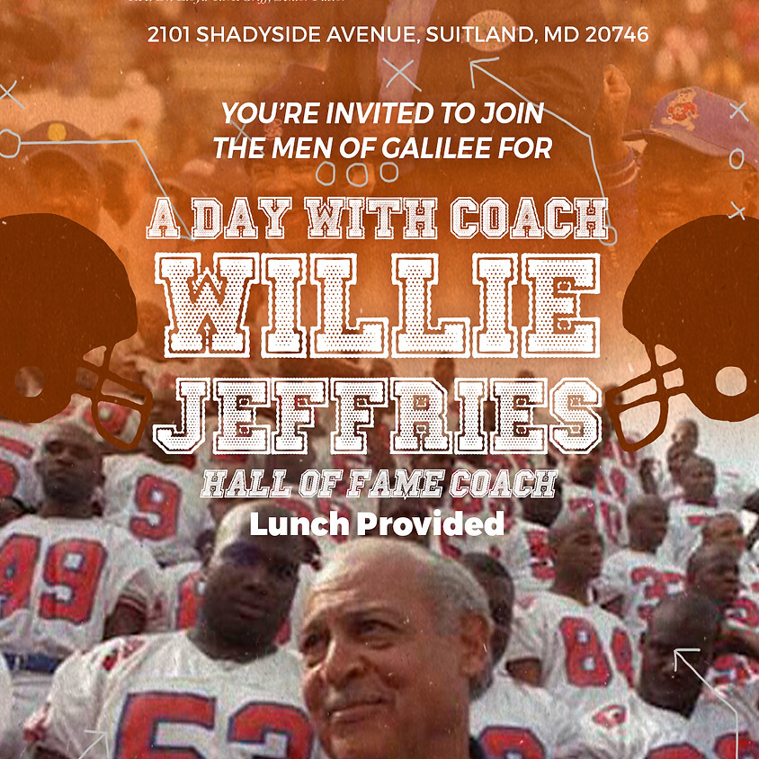 A Day with the Coach: Willie Jeffries