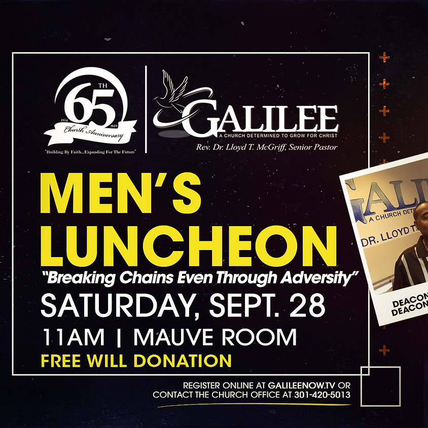 Men's Ministry Luncheon