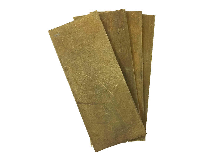 Латунь листовой толщина 1,5мм (100х40х1,5)