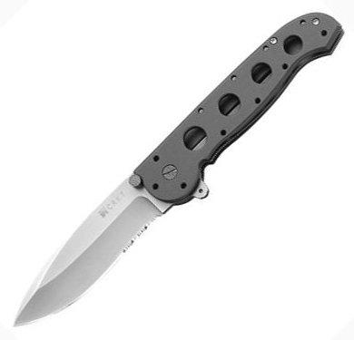 Нож складной CRKT Carson Design,насечки