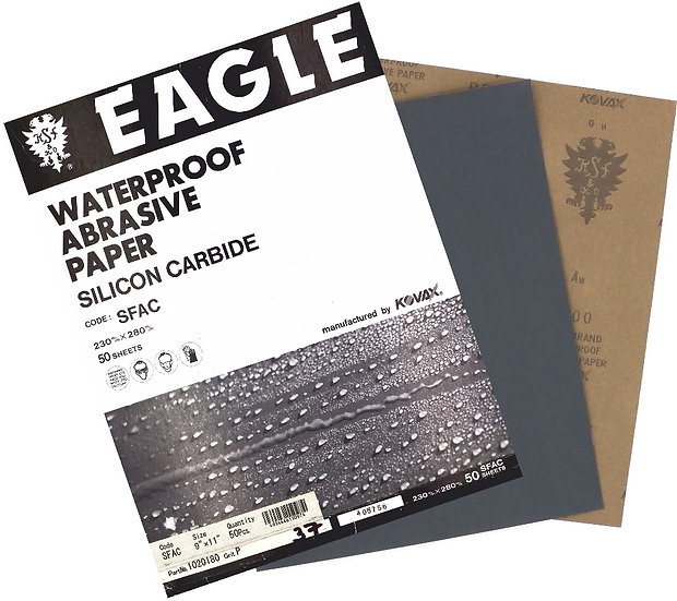Водостойкая наждачная бумага Kovax Eagle  230х280 Р320