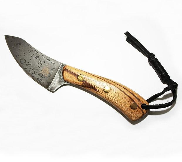 Нож шкуродер, Кузмич К-01, американский орех