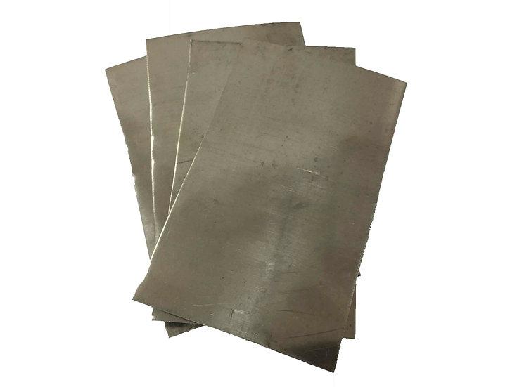 Титан листовой толщина 1мм (119х40х1 )