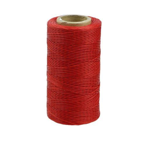 Нить вощеная 0,8мм Красный