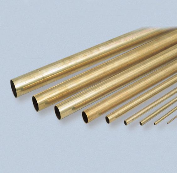 Трубка латунь, диаметр 6мм (195х2) толщина стенки 0,3мм