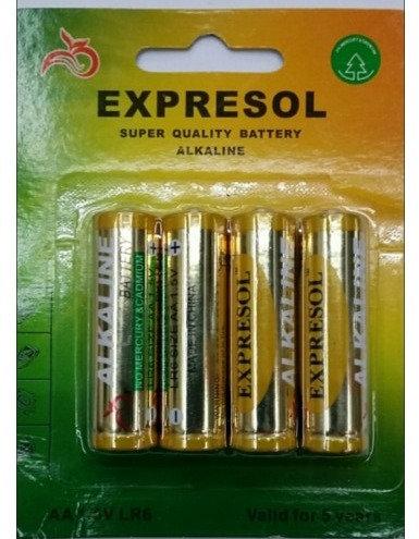 Батарейка EXPRESOL LR03 010-22-12/ALKALINE/R3 (в блистере 4шт)